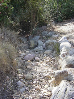 This is an actual natural dry river bed. Thanks to Kate Presents
