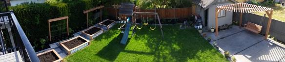 4 Elements Gardens did the garden installation