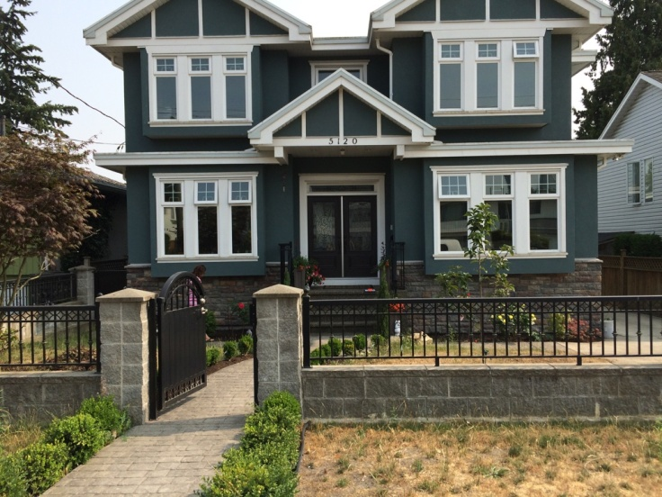 Street view, South Burnaby home